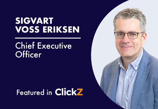 Sigvart Voss Eriksen, Chief Executive Officer, Tapad - Featured in ClickZ